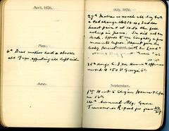 Diary of Robert Wallace p.70 (Community Archives of Belleville & Hastings County) Tags: 1880s 1890s 1900s 1910s 1920s diaries homechildren