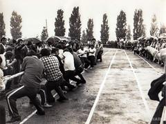 Sports life of the Cimislia. (Scutal) Tags: 80s retro old oldcimislia cimislia moldova basarabia sport sportsschool opening season blackandwhite history urss