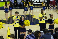 University of Michigan 80, University of Arkansas 67 (Men's Basketball, Ann Arbor, December 8, 2012) (cseeman) Tags: basketball cheerleaders stadiums michigan band annarbor arena indoors fans universityofmichigan universityofarkansas collegebasketball arkansasrazorbacks mensbasketball universityofmichiganwolverines athleticfacilities maizerage crislercenter universityofmichiganbasketball 2012basketball mensbasketball2012 ummbasketball12082012