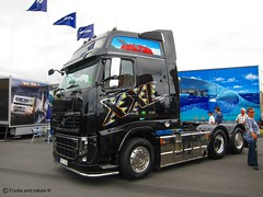 Volvo FH16 700 (Trucks and nature) Tags: truck volvo big diesel cab semi rig 700 xxl strongest cabover fh16 boije ovebrink