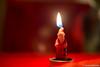 Santa Claus Candle 14.12-2012