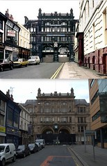 Moorfields 1970s and 2012 (Keithjones84) Tags: street old city building history liverpool archive comparison thenandnow merseyside oldliverpool