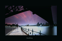Something (EmeraldImaging) Tags: bridge seascape sunrise point harbour sydney nsw operahouse sydneyharbour milsons