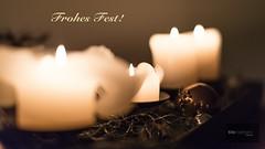 Frohes Fest! (Tilo Friedmann) Tags: weihnachten advent dezember 169 kerzen 2012 d800 frohesfest sigma50mmf14exdg