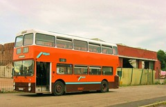 8763 at its home depot for one last time (Barang Shkoot) Tags: gmt 8763 gmbuses a763nna wiganbusdepot tcf1