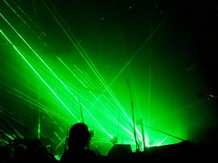 Aphex Twin: Remote Orchestra with Heritage Orchestra and Choir @ Barbican, London 10/10/2012 (DG Jones) Tags: green experimental arty arts warp barbican lasers techno classical incredible neoclassical aphextwin eastlondon artscentre idm warprecords orchestral heritageorchestra krzysztofpenderecki lastfm:event=3324182