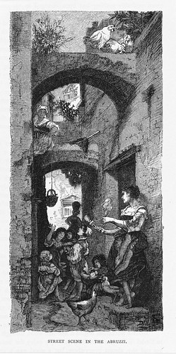street scene in the Abruzzi