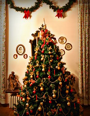 il mio albero di Natale :) (balenafranca) Tags: christmas decorations italy tree home casa italia holliday festa albero inverno natale lombardia varese decoro tradate mygearandme