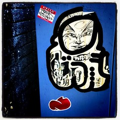 streetart #graffiti #london #sticker #theKrah #stinkfish... (minedesignz) Tags: streetart london graffiti sticker stinkfish nibbs thekrah uploaded:by=flickstagram nibbsone instagram:photo=1657689152650630