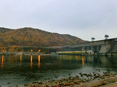 Krasnoyarsk Hydroelectric power station (Int 1bh) Tags: hydroelectricity
