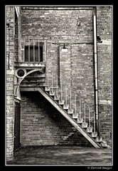 Stairs (Dervish Images) Tags: bw monochrome architecture stairs mono blackwhite leeds victorian towerworks dervishimages