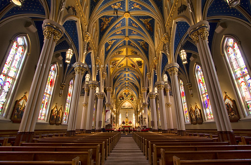Basilica of the Sacred Heart | explored #359 1/1/13