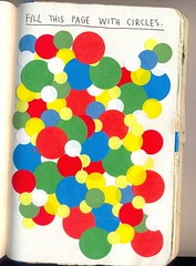 fill this page with circles (Dorys.) Tags: colors this colorful circles journal smith keri wreck coloured kerismith wreckthisjournal