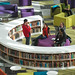 The new Hunt Library was designed to inspire creativity.