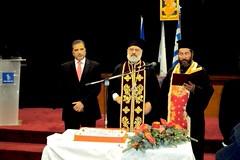Με ευχές για ένα ελπιδοφόρο 2013 και μήνυμα αποφασιστικότητας για ενότητα και αλληλεγγύη, έκοψε το Μαρούσι την Πρωτοχρονιάτικη πίτα του