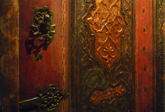 Damascus Room, panels and hardware