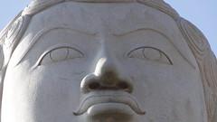 Shravanbelagola - Serene face of Lord Gomateshwara