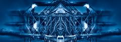 Etwas anderes in blau! (radonracer) Tags: blue fantasy digiart geometricart blauefarbe industryart radonart wwwradonartde