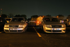 DSC03376 (Photography by BNC) Tags: auto car vw night honda photography long exposure nissan jeep flash mob toyota mazda audi acura meet mitsubishi jdm