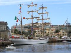 IMG_1635 (Paco Gonzlez1) Tags: puerto muelle corua barco cuttysark 2012 velero tallshipsrace trasatlantico