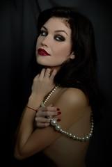 Ann (Artem_Prikhodko) Tags: portrait woman sexy beauty studio 50mm model nikon sb600 d200 cls strobist 50mmf18g illuminacion f18g yongnuorf602 ufocy400k
