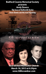 Bedford County Event (58November) Tags: aircraft aviation airports fbi jedgarhoover hijacking skyjacking shelbyvilleairport bedfordcountyhistoricalsociety 58november