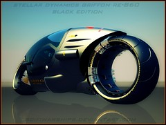 finished bike6 black (scifiwarships) Tags: electric racing scifi motorcycle fi canopy futuristic sci superbike scifiwarships