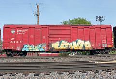 Mone Ichor (The Braindead) Tags: art car minnesota train bench photography graffiti box painted tracks minneapolis rail yme explore beyond cp ich mone the ichor