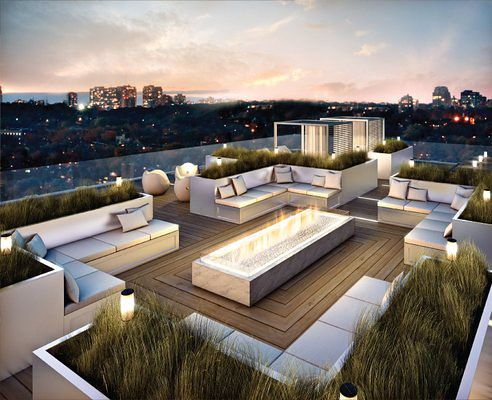 The High Life: Roof Terrace Design Ideas | ARQUIGRAFICO-