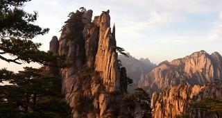 Huangshan panorama