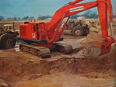 Pub Koehring Add (PLEIN CIEL) Tags: hoe shovel pelle koehring pellehydraulique