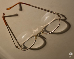 Impaired vision (jcdriftwood) Tags: shadow reflection vision illusion eyeglasses impairedvision