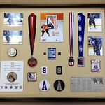 Hockey shadow box