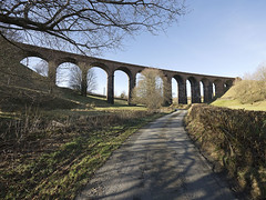 Low Gill Viaduct at Beck Foot Cumbria (penlea1954) Tags: west lune foot coast little beck main low north railway line viaduct company cumbria western gorge gill clapham m6 ingleton tebay sedbergh wcml