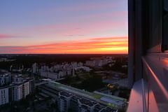 Sunset (timo_w2s) Tags: sunset summer finland helsinki cirrus vuosaari