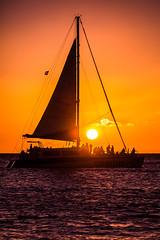 Lahaina Sunsets (Thomas Hawk) Tags: america hawaii lahaina maui beach sailboat silhouette sun sunset water gemini fav10 fav25 fav50 fav100