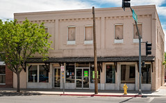"Riggs Bank Bldg. (c. 1900), 100 E Maley St, Willcox, AZ, USA (lumierefl) Tags: willcox ""cochise county"" arizona az ""united states"" usa ""north america"" southwest western frontier architecture building commercial business officebuilding bank hospitality hotel entertainment theater theatre movietheater moviehouse pictureshow cinema exhibitor movies sweetshop 1900s 1910s 20thcentury"