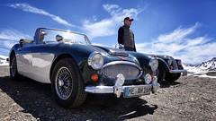 Austin-Healey 3000 Mk3 (Philippe Vieux-Jeanton) Tags: savoie france car voiture old austinhealey 3000 coldeliseran vintage tourist tourism convertible grandetourer fashion