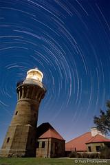 Star Trails - Barrenjoey Lighthouse by Night (renatonovi1) Tags: star trail lighthouse night barrenjoey sydney nsw australia beach plambeach light nightphotography longexposure landscape
