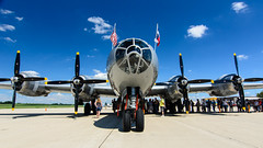 four engines (contemplative imaging) Tags: 2016 20160716 atx1228prodx airpowerhistorytour auroramunicipalairport cimisc20160716d7000 commemorativeairforce tokinaaf1228mmf4 aircorps airforce airpower aircraft airplane airplanes airport america aviation bw b29 boeing bomber contemplativeimaging cpl d7000 day digital dslr fifi flightline historic historical hot il ill illinois july kanecounty midwest midwestern military nikon nx529b partlysunny photo photography preservation ronzack saturday sugargrove summer superfortress tok1228f4dx usa war warbird warbirds weapon weapons worldwarii ww2 wwii