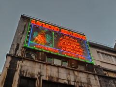 The world's greatest names (chilangoco) Tags: reinounido uk england inglaterra londres london aviso neon vintage soho publicity publicidad light