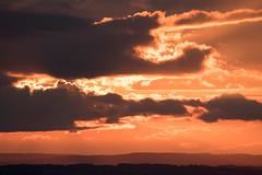 Cloudscape_11_9X7A0541 (timbertree9) Tags: westmidlands cloud clouds orange sunset burst light beams dark moody clenthills england summer sky skyline cloudsstormssunsetssunrises stormysky cloudbreaks outdoor calmbeforethestorm