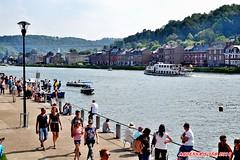Courses de baignoires  Dinant, Belgique 02 (voyageursdumonde1) Tags: ville fleuve patrimoinearchitectural meuse patrimoineardennais eau belgique2016 dinant sax coursedesbaignoires