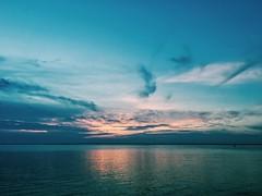 (taylorsalvatore) Tags: sunset dusk sky clouds skyporn ocean bay beach shore sea newjersey jerseyshore lbi longbeachisland