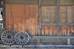 wooden (Hayashina) Tags: wooden bench house traditional texture japan
