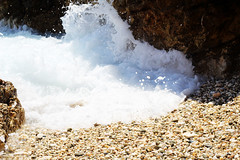 splash (Katrinitsa) Tags: paros2016 paros greece pisolivadi beach aegean mediterranean summer greekislands island blue colors waves wave water rocks splash sand sandy swimming foam sea canon landscape cyclades kyklades traditional