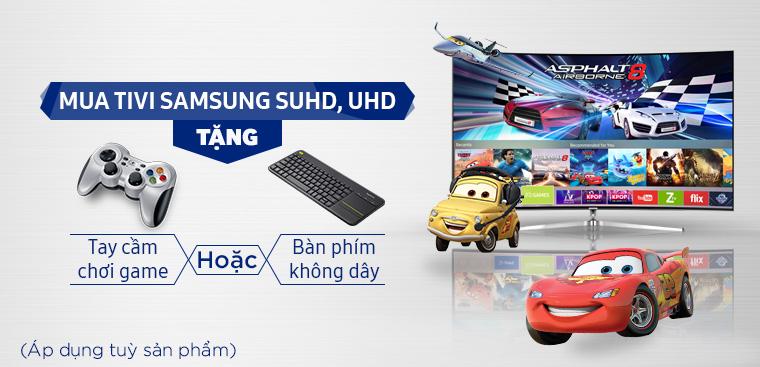 Chon Tivi Samsung nhận nhiều ưu đãi hấp dẫn