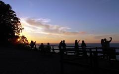 selfie hour (kexi) Tags: sunset selfie horizon silhouettes sky clouds people sea balticsea pomorze pomerania poland polska polen pologne polonia evening water samsung wb690 jastrzebiagora august 2016 sun blue instantfave