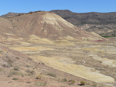 042-22 2007 USA Tour, Oregon, John Day Fossil Beds, Painted Hills Unit (Aristotle13) Tags: 2007 usa tour oregon paintedhills