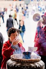 did I just win a lottery ? (rabbit7419999) Tags: a7rii sal70400gii japan travel nara temple pray religion faith